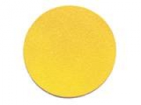 "6"" PSA Sticky Boxed Gold Stearated Paper Sanding Discs with tabs"